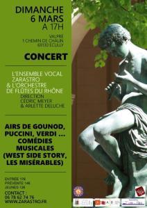Affiche concert Zarastro 2016